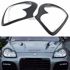 Mg Eyebrow Set Lamp Spoiler Kit Eye Lid Spoilers Fits Porsche Cayenne 955 Fits Cayenne