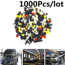 1000pcs Mixed Automotive Fasteners Interior&Exterior Rivet Pin Clip Plastic Ware