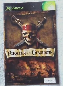 74225 Instruction Booklet - Pirates Of The Caribbean - Microsoft Xbox (2003)