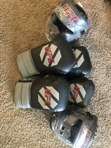 UFC Boxing Gloves And Mask