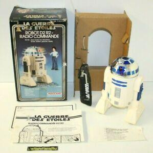 ++ ROBOT R2-D2 radio commandé - star wars la guerre des étoiles - MECCANO 1977 +