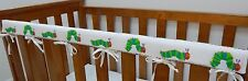 1 x Baby Cot Rail Cover Crib Teething Pad Very Hungry Caterpillar March - Cotton