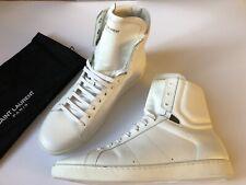 SAINT LAURENT Signature Classic SL/01H High Top Leather Sneakers weiß 43 NEU