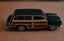 vintage Franklin Mint Cars 1950  Ford Woodie   Precision Model