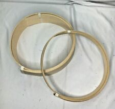 "2 rolls 1"" 3"" natural wood basket making reed"
