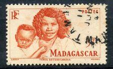 TIMBRE DE MADAGASCAR N° 313 OBLITERE TYPES BETSIMISARAKA