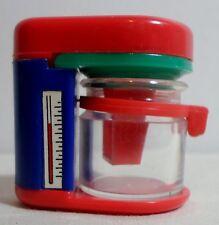 STATIONERY VTG 80's COFEE MACHINE PLASTIC PENCIL SHARPENER UNUSED R