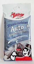 Poliboy Dustmaster Car Wet Wipes 20 Cloths Cleaning Cloths