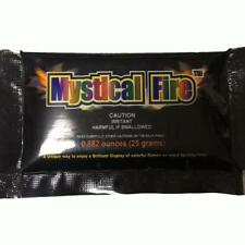 Mystical Fire Magic Tricks Coloured Flames Bonfire Sachets Fireplace Color ToyUK
