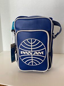 "PAN AM ""Malay Reloaded"" Bag Originals Certified Vintage Style Pan Am  Blue"
