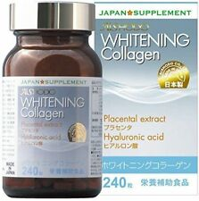 Aishodo Whitening Collagen 240 tablets Placenta supplement Made in Japan