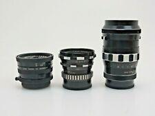 3x M42 Tele Xenar 135mm Edixa Iscotar 50mm Lithagon 35 Pentax mount sy065