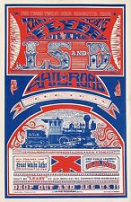 "Original Vintage ""LSD Railroad"" Dope Poster from 1967 Small Run Mint Condition"
