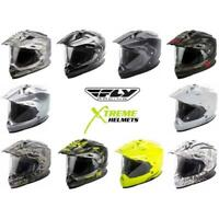 Fly Racing Trekker Helmet Dual Sport Motorcyle Full Face Lightweight DOT XS-2XL