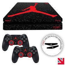 Jordan PS4 SLIM Skin Decal Vinyl Sticker Wrap