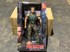 "Neca 1/4 DUTCH 18"" Arnold Schwarzenegger Action Figure Jungle Patrol (Predator)"