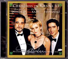 Placido DOMINGO Signiert CHRISTMAS IN VIENNA 6 Patricia KAAS Alejandro FERNANDEZ