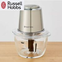 Russell Hobbs Food Processor Slicer Chopper Kitchen Food Prep Glass Bowl Blade
