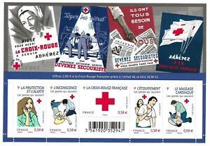 Bloc Feuillet 2010 N°F4520 Timbres France Croix Rouge Les Gestes qui sauvent
