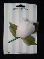 NEW David Tutera White Rose Wedding Bridal Prom Boutonniere