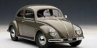 1/18 AUTOart 1955 Volkswagen VW Käfer Beetle POLARISSILVER