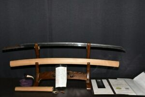 """(BA-30) Old """"NANBOKUCYOU age Blade TAMETUGU"""" with Judgment paper"""