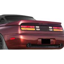 For Nissan 300ZX 90-96 Twin Turbo Look Fiberglass Rear Lip Spoiler Unpainted