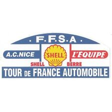 Sticker Tour de France AUTOMOBILE 120mm x 50mm