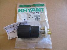 *NEW Bryant Locking Plug 70620NP NEMA L6-20 2 Plole 3 Wire Grounding 20A 250V