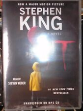 It : A Novel by Stephen King (2017, MP3 CD, Unabridged) / NEW