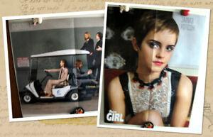 Maroon 5 / Emma Watson two-sided magazine poster A2