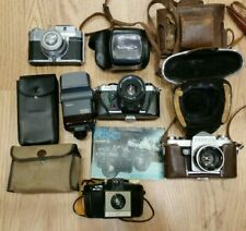 Vintage Camera Photographic Job Lot 35mm SLR Film Yashica FX-D Reflex Koroll 24
