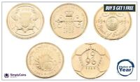Two Pound Coins £2 1986, 1989, 1994, 1995, 1996 - Choose your year - old large