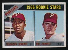 1966 TOPS FERGUSON JENKINS  EX / EXMT  PHILADELPHIA PHILLIES  #254  ROOKIE CARD