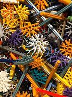 KNEX 500 Random Standard Size Parts Rods Connectors Bulk Lot