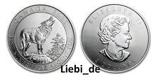 2$ Silber / Silver Kanada / Canada Grey Wolf 2015 3/4 OZ
