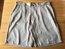 adidas Climalite Golf Beige Flat Front Bermuda Knee Length Athleisure Shorts 2XL