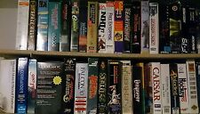 Huge assortment - hundreds of PC Retro boxed 1990s games make reasonable offers