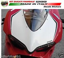 adesivi moto per cupolino ducati 959 1299 panigale portanumero personalizzato
