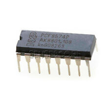 5PCS PCF8574P DIP-16 IC Chip Remote 8-bit I/O Expander Original IC