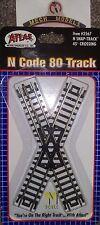 ATLAS #2567 N SNAP TRACK 45 degree crossing N Code 80 track New & Packaged