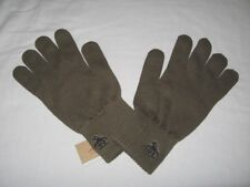 BNWT - ORIGINAL PENGUIN  Knitted Winter Gloves  -  Burnt Olive