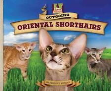 Outgoing Oriental Shorthairs - New Library Book