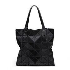 New Fashion Women Bao bag style Foldable Women's Cube Shoulder bag