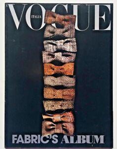 Vogue Tessuti supplemento L'uomo n. 384 ottobre 2007 Fabric's album Papillon