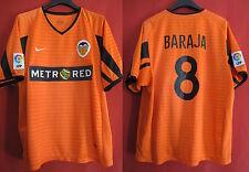 Maillot VALENCIA CF 2001 valence Nike away football shirt jersey Baraja - M