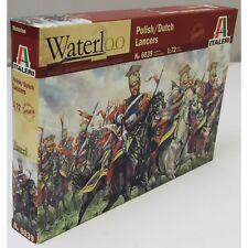Italeri 1:72 6039 NAPOLEONIC WARS POLISH-DUTCH LANCERS PLASTIC FIGURES