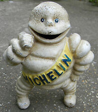 SUPERB HEAVY CAST IRON MICHELIN MAN BIBENDUM MONEY BOX REG67548 DETROIT