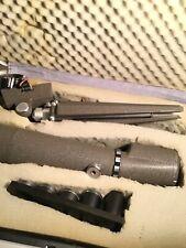 Vintage Swift spotting scope Model 821 Lenses Tripod Stand And Case