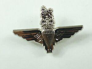 Nickel British Para Wings Regimental Badge Lapel Pin Small Metal British Army